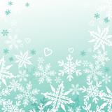 Snowfall.  poster