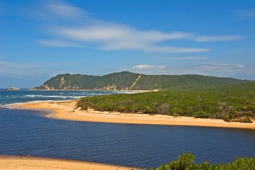 Sedgefield River Mouth lies on the Garden Route in South Africa