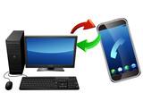Synchronisation ordinateur et smart phone poster