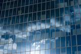 vitre bureau immeuble moderne architecture poster