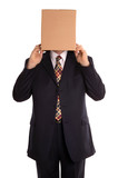 Businessman about to reveal himself from his hidden identity. poster