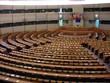 canvas print picture - European Parliament in Brussels