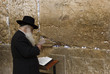 The prays in western wall in Jerusalem - 5892395