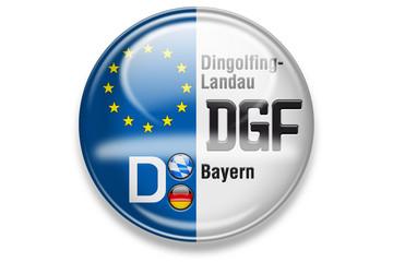 Autokennzeichen: DGF, Dingolfing-Landau, Bayern