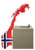 Election Norvégienne poster
