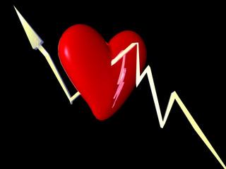 corazon atravesao