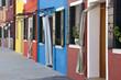 Maisons colorées de Burano - Venise