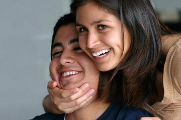 Teen HIspanic Siblings