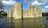 fortification with moat poster