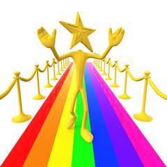 Star Of The Rainbow Carpet