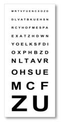 Test d'acuité visuelle