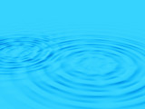 Ripples on pool surface