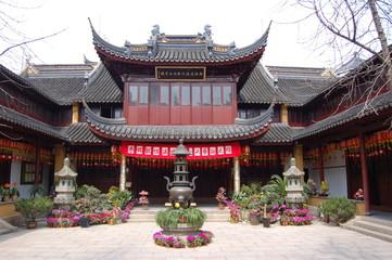 temple - quartier yu garden - shanghai