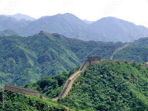 Foto op Canvas Chinese Muur Grande muraille de Chine