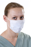 Medical Professional in Germ Mask