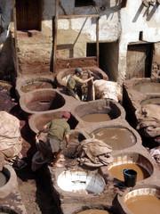 Teinturerie marocaine