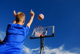 Boy playing basketball - 5928789