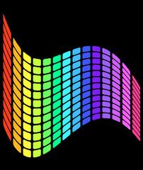 wavy grid pattern