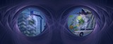 Banner / header: Eye on future and success