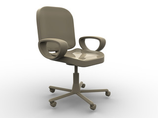 office chair. 3d