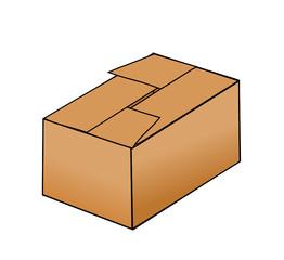 caixa fechada