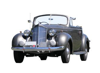 1939 Packard with clipping path