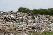A pile of waste including dicarded tires, plastic, etc - 5938945