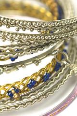 fashion bracelets from asia on white