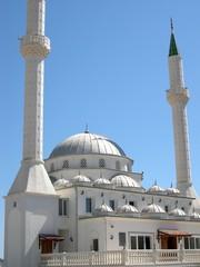 moschee im licht