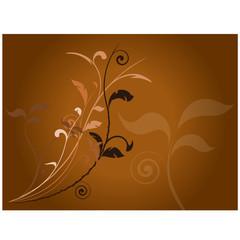 vecteur série - automne plante ou arbre vectoriel