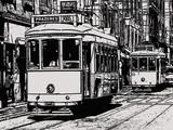 croquis de tramways à lisbonne