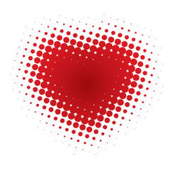 Abstract Heart (vector or XXL jpeg image)