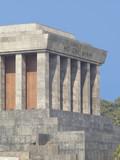The Ho Chi Minh mausoleum in Hanoi, Vietnam poster