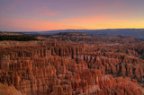 Bryce National Park at dawn poster
