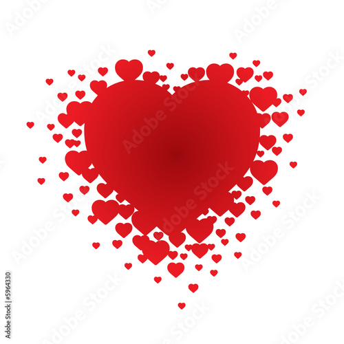 Valentine's Heart (vector or XXL jpeg image)