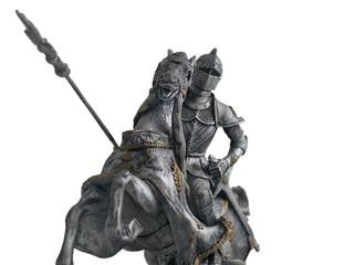 Caballero en caballo