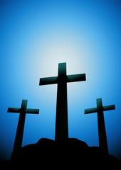 Crucifixion sur le Golgotha