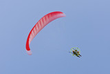 A Powered Paraglider in flight