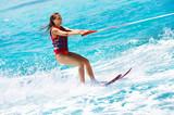 Fototapeta lato - działanie - Woda / Plaża
