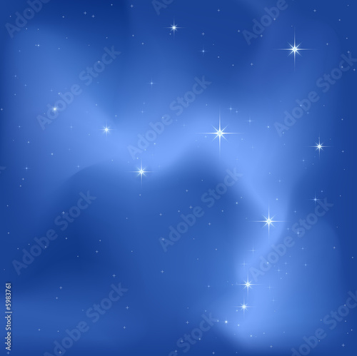 clear sky night with a lot of bright stars