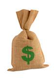 Bonus money sack. poster