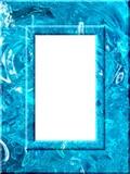 Liquid frame poster