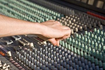 Console de mixage - Réglage du son