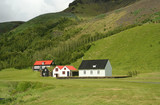 Tradition iceland houses poster