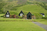 Iceland tradition houses poster