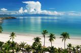 Fototapety Beach Scene, Tropics, Pacific ocean