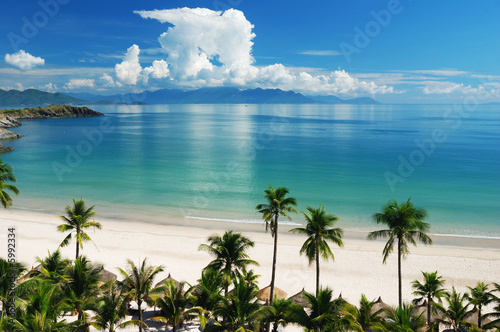 beach-scene-tropics-ocean-spokojny