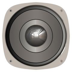 A generic home or car audio speaker.