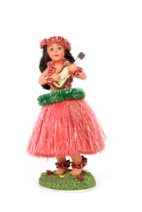 Hula Girl Figurine