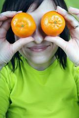 mandarine & girl